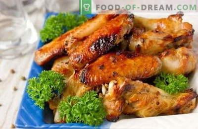Marynaty dla kurczaka - najlepsze przepisy. Jak gotować marynatę na grillowanym kurczaku iw piekarniku.