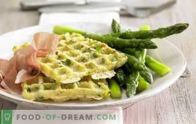 Gofry ziemniaczane są super dodatkiem! Przepisy podają gofry ziemniaczane z cebulą i czosnkiem, serem, kurczakiem, łososiem, jajkami w koszulce