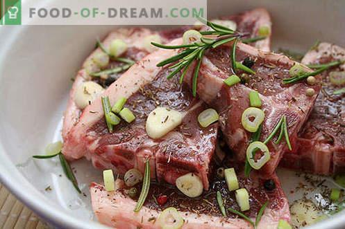 Marynaty na mięso - najlepsze przepisy. Jak właściwie i smacznie gotować marynatę do mięsa.