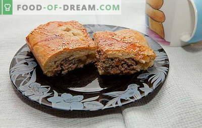 Czy nie możemy zrobić tortu z mielonego mięsa: gdzie jest przepis? Gotowanie mięsnego ciasta z mielonym mięsem jest interesującym procesem