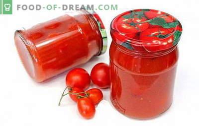 Pomodori in concentrato di pomodoro - ricette interessanti per una preparazione interessante. Come cucinare deliziosi pomodori in pasta di pomodoro