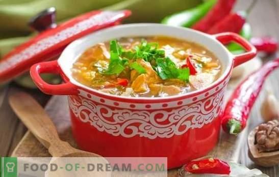 Zupa wieprzowa Kharcho: bogata, gęsta i ostra. Najlepsze przepisy na zupę kharcho wieprzową - kultowe danie gruzińskie