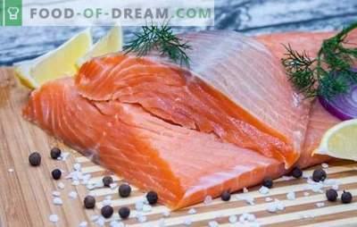 Dieta na czerwonej ryby: zasady i menu na tydzień