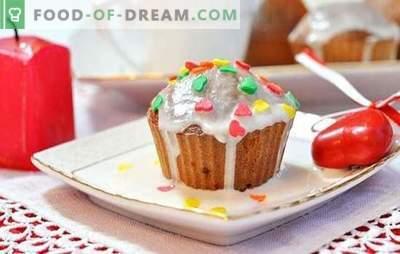 Печете кекси на кефир: меки и воздушни. Избор на најдобри рецепти за мафини на кефир во конзерви: слатко и солено