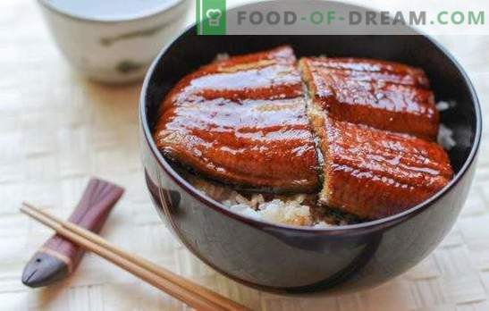 """Sos """"Unagi"""" - nie tylko dla japońskich potraw! Domowe przepisy na sos Unagi z winem, wódką ryżową, warzywami, węgorzem, miodem"""