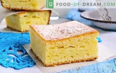 Mannik on kefir: klasyczny, krok po kroku przepis. Delikatna klasyczna manna w piekarniku lub wolna kuchenka (krok po kroku)