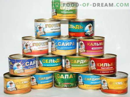 Zupa rybna w puszkach - najlepsze przepisy. Jak prawidłowo i smacznie gotować zupę z ryb w puszkach.