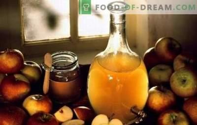 Ocet jabłkowy: gotowanie w domu. Dlaczego lepiej gotować ocet jabłkowy w domu