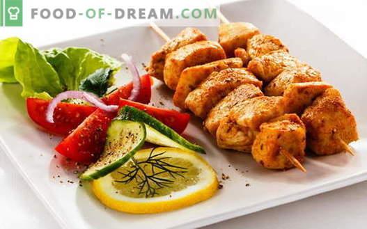 Chicken Kebab - najlepsze przepisy. Jak gotować szaszłyki z kurczaka.