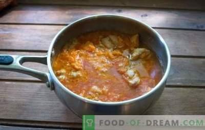 Pork azu - a fragrant dish with a rich taste! Azu pork recipes with potatoes, cucumbers, mushrooms, beans