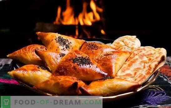 Samsa - przepisy krok po kroku na pyszne trójkąty mięsne. Przygotowanie tradycyjnych i puff samsa w domu z przepisami krok po kroku