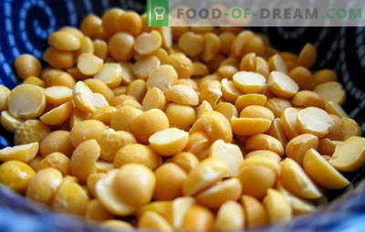 Jak gotować groszek: żółty, zielony, brązowy? Różne sposoby gotowania suszonego, świeżego i mrożonego groszku: proste i złożone przepisy
