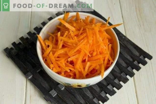 Sałatka ze słodkiej papryki z cukinią i groszkiem