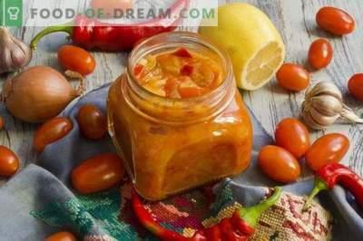 Słodko-kwaśny sos wiśniowo-cytrynowo-chili