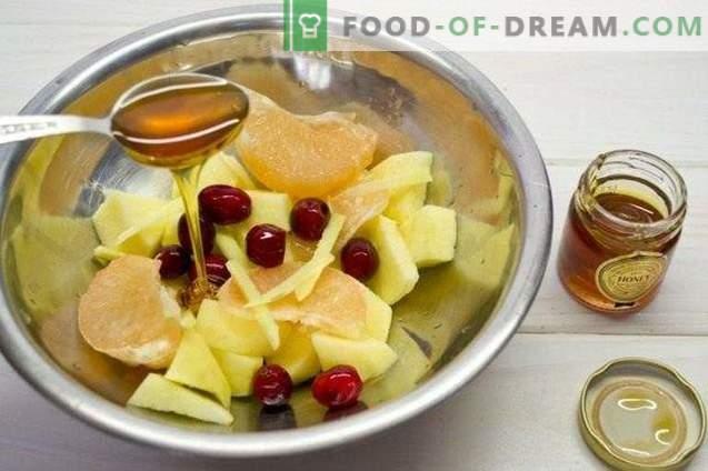 Fruit Cranberry Smoothie - koktajl witaminowy
