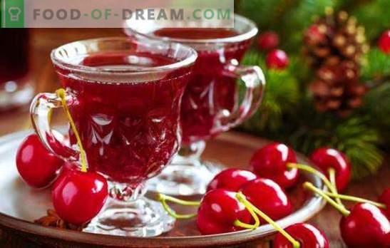 Homemade Cherry Wine - technologia w szczegółach. Wino wiśniowe w domu z malinami, wiśniami, porzeczkami
