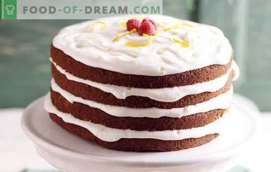 Ciasto ze śmietaną: proste i sprawdzone przepisy. Jakie rodzaje ciasta stosuje się do ciasta ze śmietaną