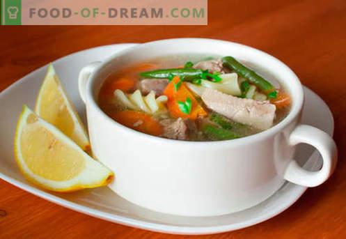 Zupa z indyka - sprawdzone przepisy. Jak prawidłowo i smacznie gotować zupę z indyka.