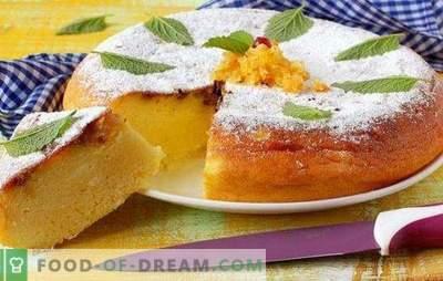 Ciasto z twarogiem w wolnej kuchence - wypieki z cudownego rondla. Przepisy z twarogów w multicookerze z innego ciasta