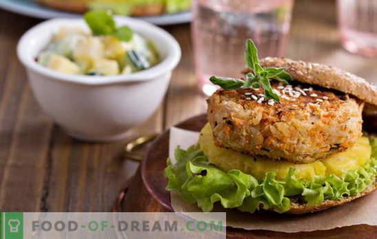 Kotlety z fasoli - bez mięsa i bez potrzeby! Przepisy różnych kotletów z fasoli z warzywami, płatkami, kurczakiem, kiełbasą