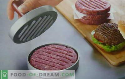 Burgery na hamburgery - przepisy kanadyjskie na hawajskie. Soczyste i chrupiące kotlety hamburgerowe, receptur nie można policzyć