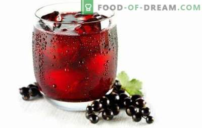 Sok z porzeczki - cała armia witamin! Przepisy różnych soków z czerwonych i czarnych porzeczek