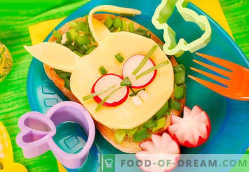 Kanapki dla dzieci to najlepsze przepisy. Jak szybko i smacznie gotować kanapki dla dzieci.