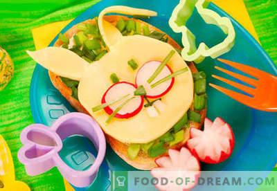 Les sandwichs pour enfants sont les meilleures recettes. Comment cuire rapidement et savoureux des sandwichs pour enfants.