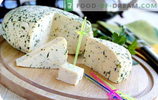 Sery śmietankowe we własnej kuchni: trzy zachęty do domowej produkcji sera. Przepisy najprostszych i najpopularniejszych rodzajów sera kwaśnego