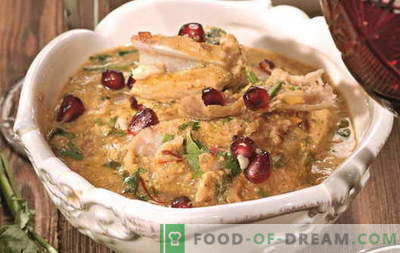 Chicken satsivi - the best recipes. How to properly and tasty cook satsivi from chicken.