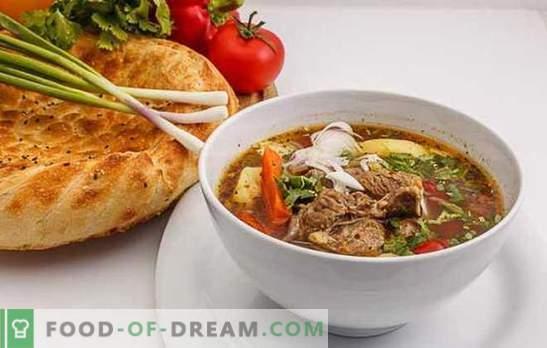 Shurpa Uzbekistane yra naudinga karšto maisto versija. Aromatizuotas, skanus Uzbekų shurpa su ėriena, jautiena