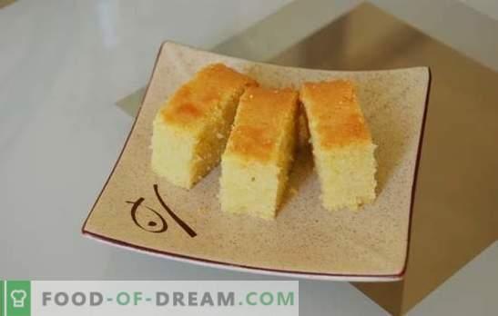 Biszkopt na lemoniadzie - powietrze jak puch! Ciastko na lemoniadzie w piekarniku i wolna kuchenka z dodatkiem owoców, jagód i orzechów