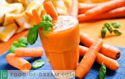 Jugo de calabaza y zanahoria en casa: ¡un almacén de vitaminas y nutrientes! El jugo de calabaza y zanahoria que conquista con su increíble sabor: recetas y secretos