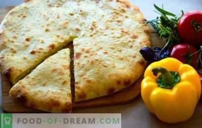 Imeretinsky Khachapuri - worth a try! Imeretinsky khachapuri recipes with suluguni, cottage cheese, potatoes, meat