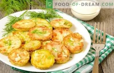 Des collations de courgettes à l'ail - éclatantes et appétissantes. Variétés d'apéritifs à la courgette et à l'ail: petits pains, gâteaux, caviar, salades