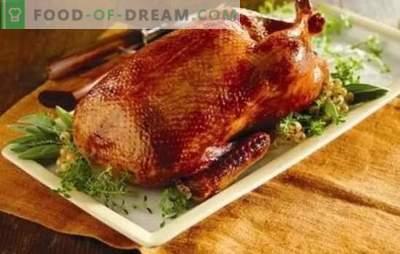 Domowa kaczka w piekarniku: przepisy krok po kroku rumianego, soczystego i pachnącego ptaka. Gotowanie domowej roboty kaczki w piekarniku z przepisami krok po kroku