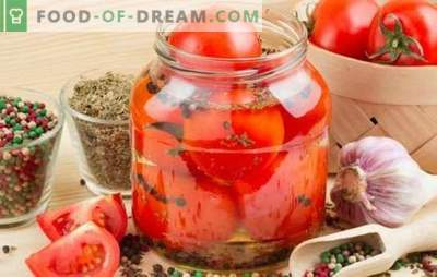 Pomidory w zimny sposób na zimę - przydatny kęs. Stare i najnowsze przepisy na zimne pomidory na zimę
