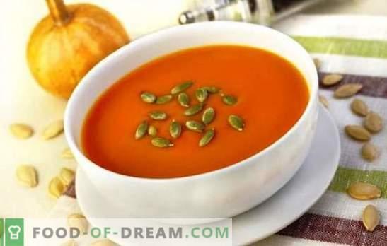 Podstawowe i deserowe dania z dyni dla dzieci. Gotowanie potraw z dyni dla dzieci od sześciu miesięcy