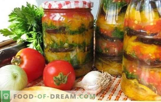 Snack arménien pour l'hiver: savoureux, facile, rapide. Les meilleures recettes de la collation arménienne pour l'hiver avec des tomates, des aubergines, des courgettes, du poivre