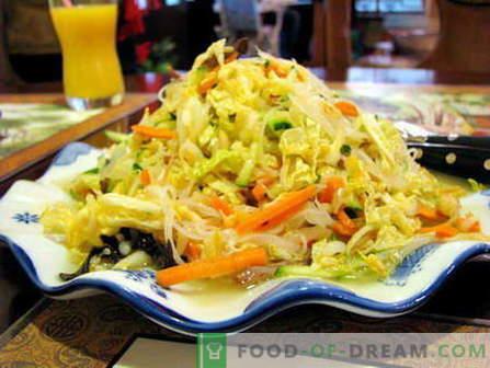 Pekino salotos - geriausi receptai. Kaip tinkamai ir virti Pekino salotas.