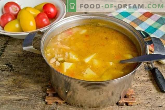 Zupa z makaronem i warzywami - kiedy szybka, zdrowa i smaczna