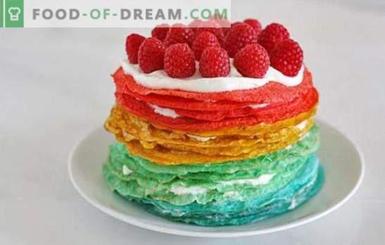 Ciasto naleśnikowe ze śmietaną: niezwykły deser lub oryginalna przekąska? Przepisy na naleśniki z kwaśną śmietaną na wszystkie okazje