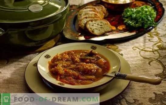 Codzienna zupa - gotuj według starych przepisów! Technologia gotowania, składniki i różne odmiany codziennego utrzymania