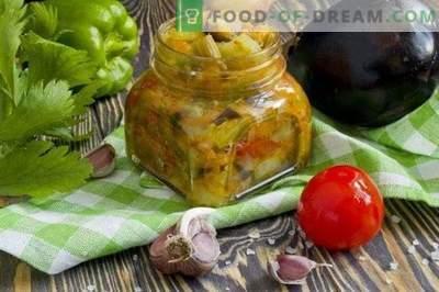Gulasz z warzyw pieczonych na blasze do pieczenia