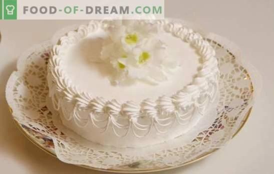 """Krem """"Sundae"""" na ciasto - sam smak! Przepisy na lekkie, powietrzne kremy """"Lody"""" do ciast i innych deserów"""
