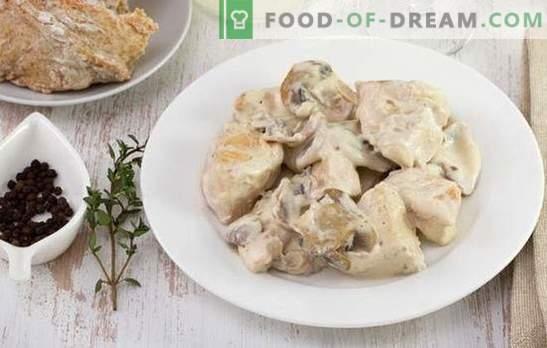Wołowina z kurczaka stroganoff - danie na każdy gust i budżet. Stroganoff wołowy z kwaśną śmietaną, cebulą, grzybami, pomidorami