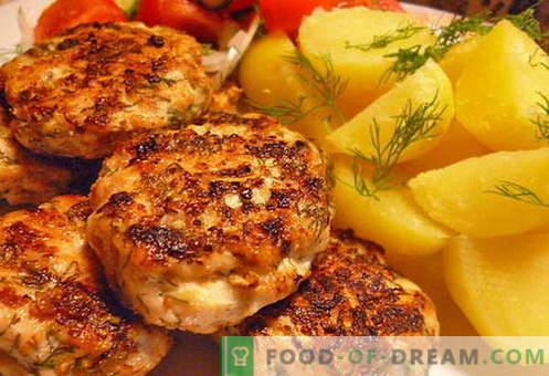 Klopsiki mielone z kurczaka - najlepsze przepisy. Jak właściwie i smacznie gotować posiekane klopsiki z kurczaka.