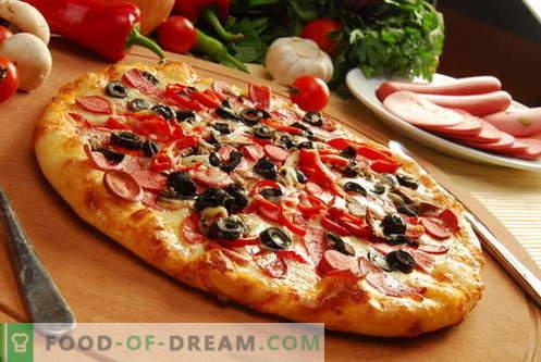 Ciasto do pizzy - najlepsze przepisy. Jak przygotować ciasto na pizzę.