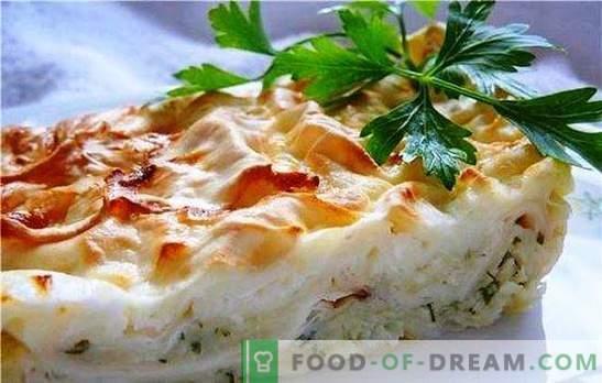 Pita z budyniem serowym - delikatne domowe ciasta. Kilka sposobów na zrobienie ciasta pita z serem
