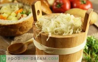 Szybka kapusta kiszona: sztuczki, wskazówki. Gotowanie szybkiej kapusty kiszonej z marchewką, czosnkiem, papryką